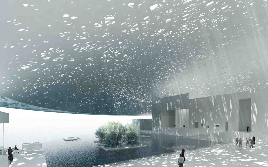 Het Louvre Abu Dhabi, ontwerp, Ateliers Jean Nouvel