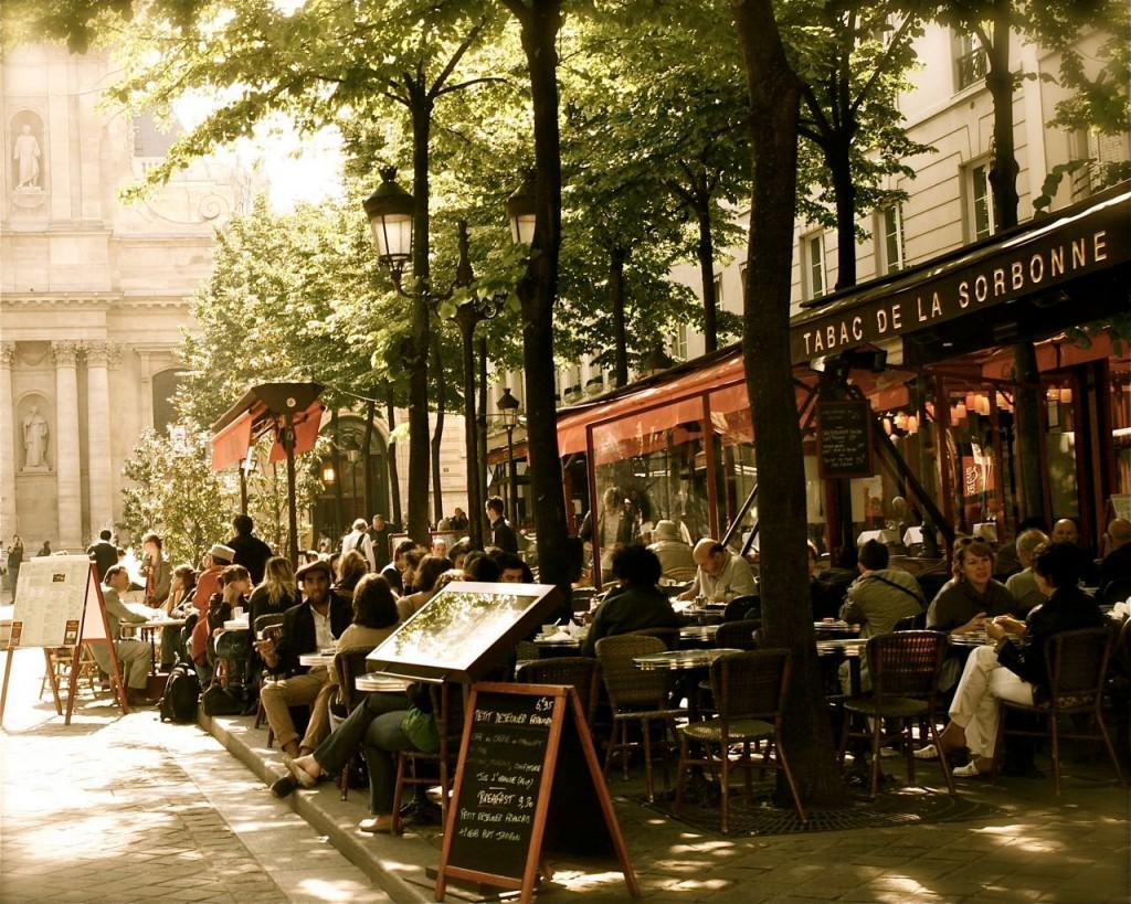 Het Place de la Sorbonne in Parijs. Bron: Etsy.com